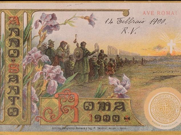 Cartoline del 1900, da domani la mostra a Roma -  Foto
