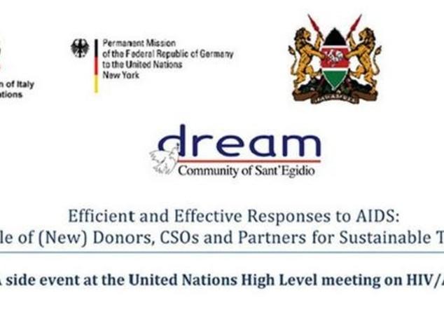 Aids: S.Egidio all'Onu con Dream, un modello efficace in Africa