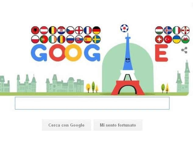 La Torre Eiffel palleggia, Doodle per calcio d'inizio