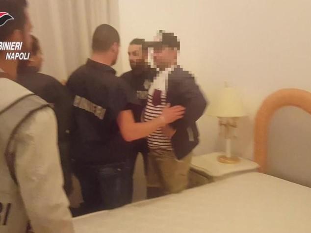 Latitante di camorra arrestato in hotel di lusso - VIDEO