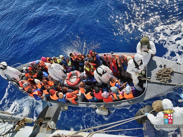 Sono 1288 i migranti soccorsi oggi nel Mediterraneo