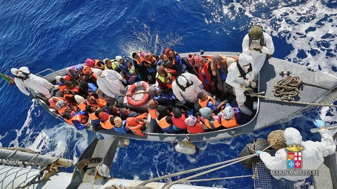 Emergenza migranti, salvati in un solo giorno 6.500 persone