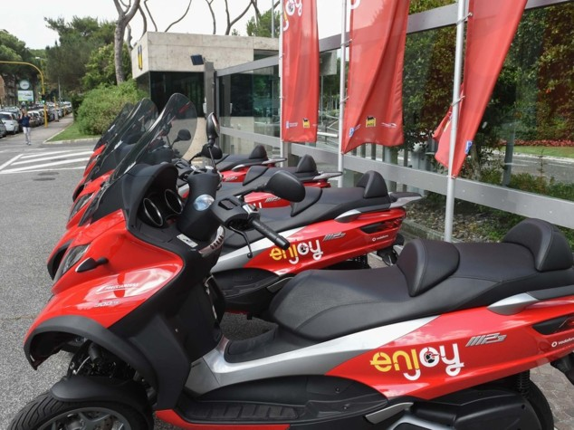 Nasce a Roma lo scooter sharing di Enjoy