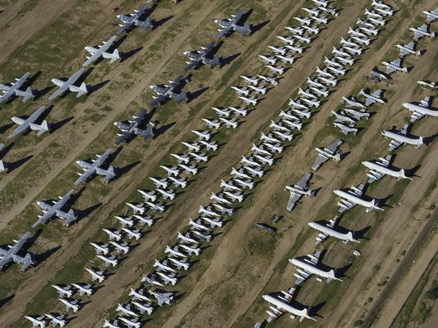 I 70 anni del cimitero degli aerei di Tucson - FOTO