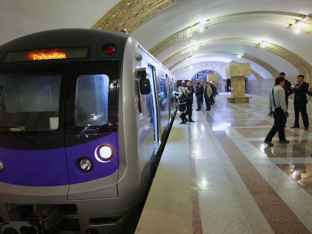 Kazakhstan: chinese plans to build an extension of Almaty metro