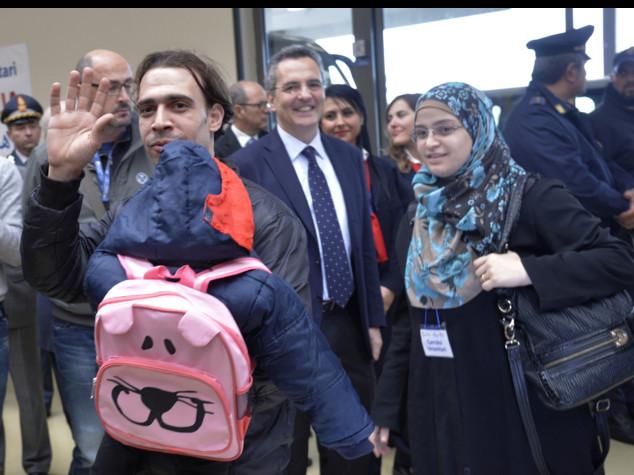 Corridoi umanitari, primi profughi siriani ospitati a Genova