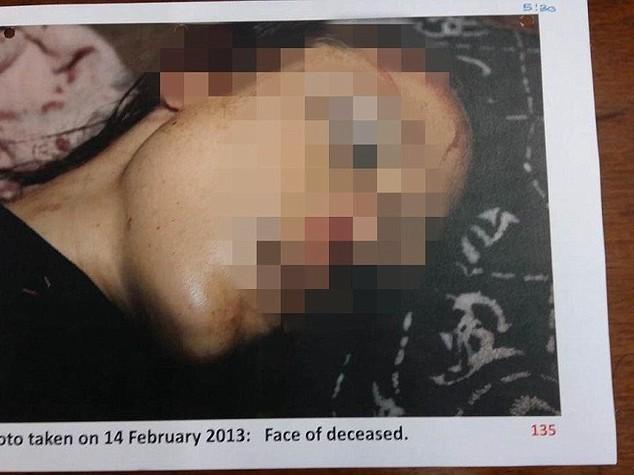 Pistorius, pubblicate le foto del corpo straziato di Reeva