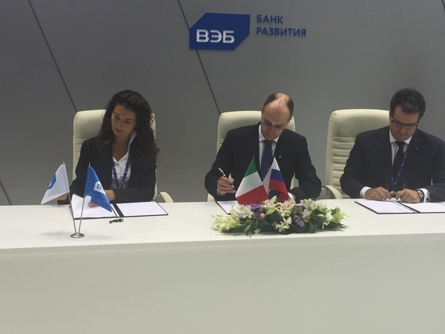 Italy's SACE and VEB bank sign agreement in St. Petersburg