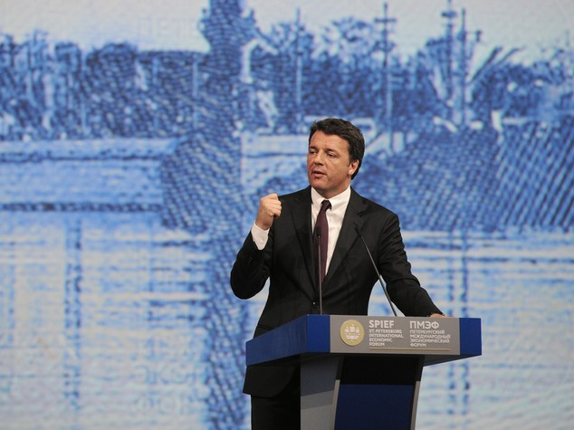 Italy builds bridges at St Petersburg Economic Forum