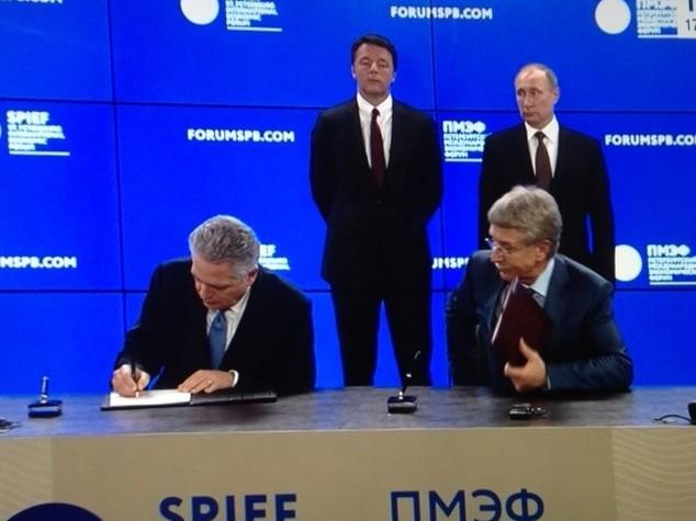 Forum Pietroburgo: Saipem e Novatek, accordo sul gas naturale liquefatto