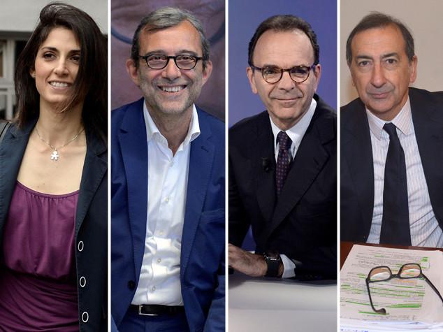 Ultimi appelli dei candidati, occhi puntati su Roma e Milano