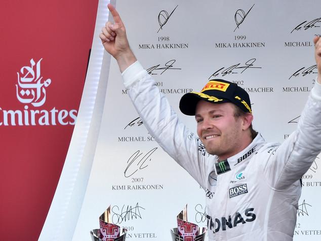 "Formula 1: Gp Europa. Rosberg ""ho spinto dall'inizio, mi godo vittoria"""