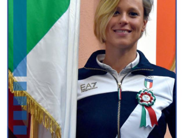 Federica Pellegrini, alfiere azzurro numero 23 dei giochi