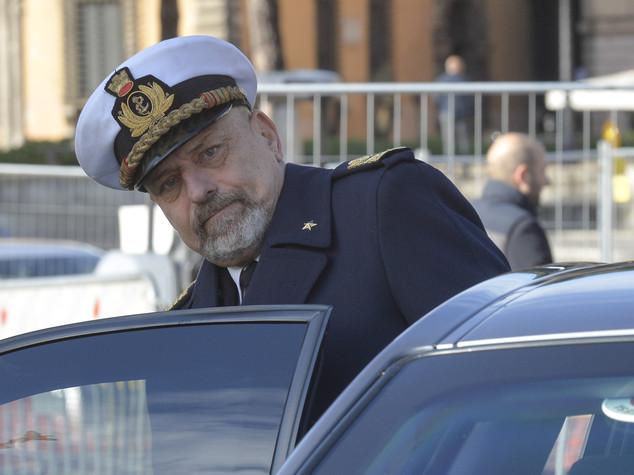 L'ammiraglio Giuseppe De Giorgi va in congedo