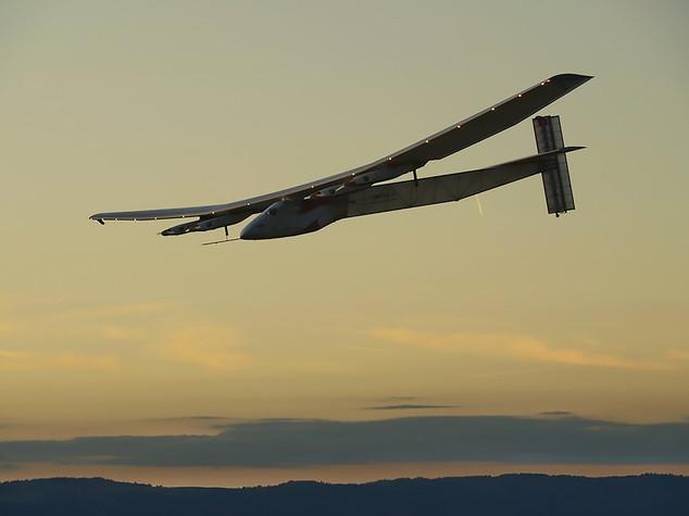 Solar Impulse ce l'ha fatta
