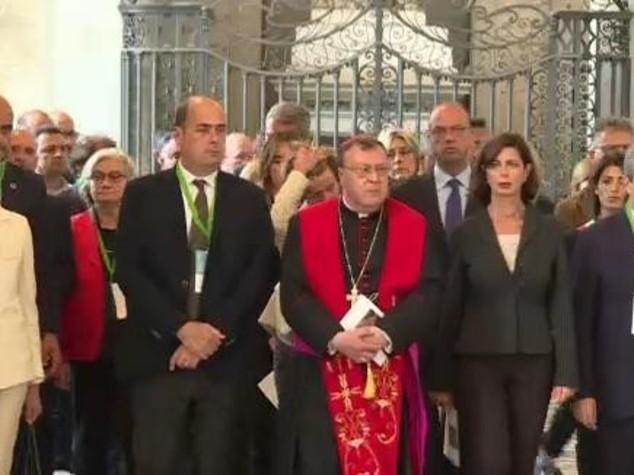 Boldrini e istituzioni varcano Porta Santa S.Giovanni