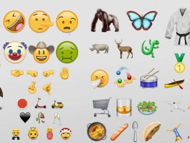 Dal cetriolo allo smile-Pinocchio, ecco le 72 nuove 'emoji' -  VIDEO