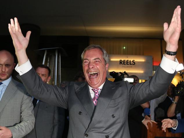 Farage, Gb non sarà ultimo Paese a lasciare l'Ue