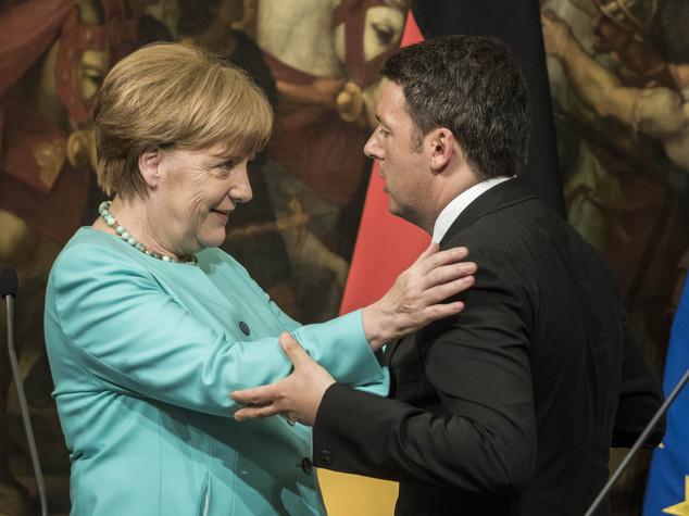 Telefonata Renzi-Merkel