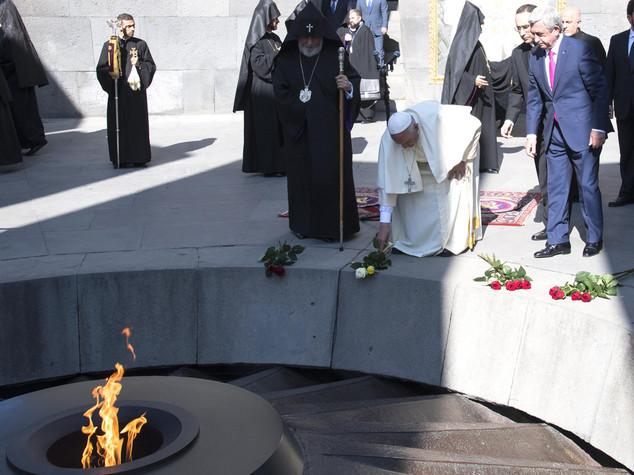 Papa: sull'Armenia non c'è altra parola che Genocidio