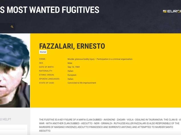 'Ndrangheta: catturato Fazzalari, più ricercato dopo M.Denaro
