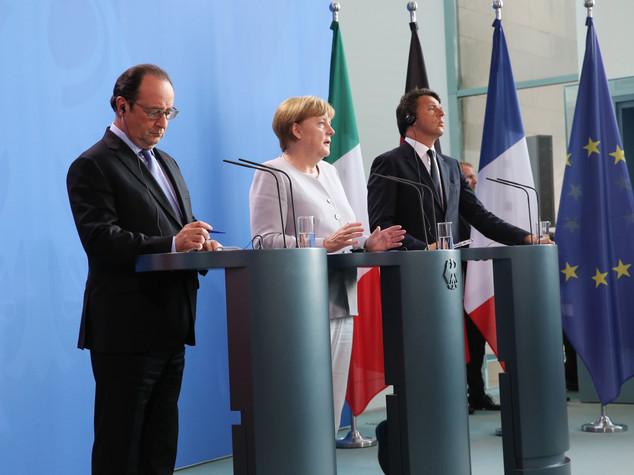 Da Germania, Francia e Italia spinta nuova Ue