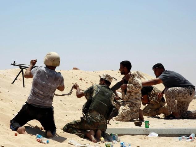 Governo Tripoli riprende offensiva contro Isis a Sirte