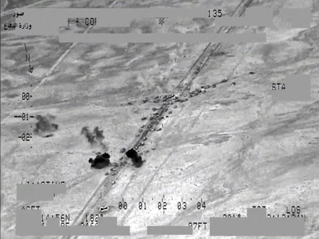 """Blitz Usa in Iraq """"uccisi 150 jihadisti"""""""