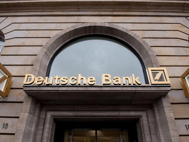 Deutsche Bank verso intesa con Usa, vola in borsa