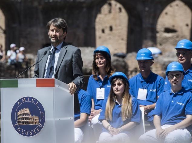 """Concluso restauro Colosseo, Franceschini """"una grande giornata"""""""