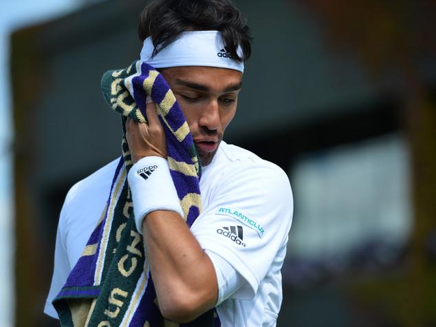 Wimbledon, Fognini out, Serena avanti piano