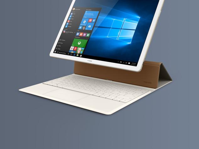 Huawei lancia Matebook, il tablet per professionisti