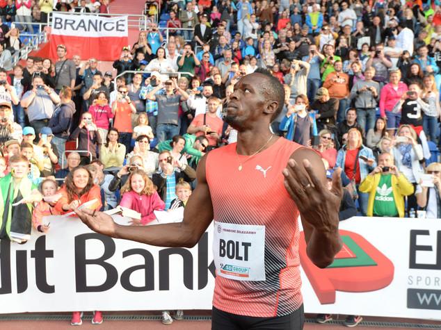 Lesione muscolare per Bolt, olimpiade a rischio