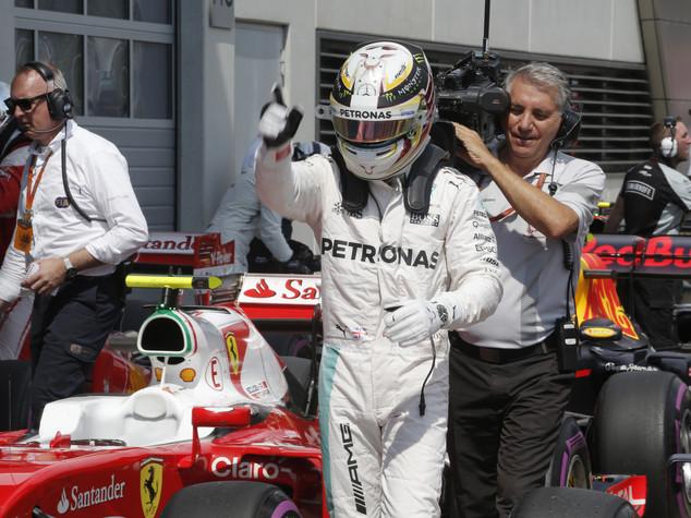 Gp Austria, pole position per Hamilton