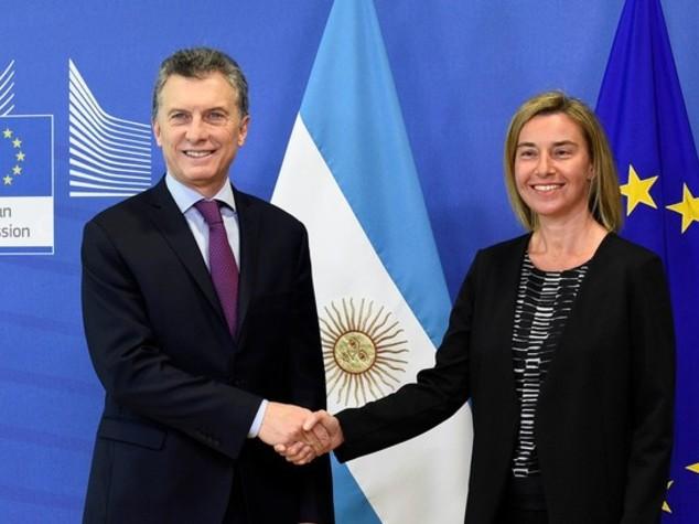 Ue-Argentina: Macri a Bruxelles per rilanciare relazioni