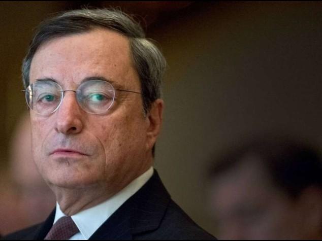 Da lunedi' 'bazooka' di Draghi Bce da' il via ad acquisto bond
