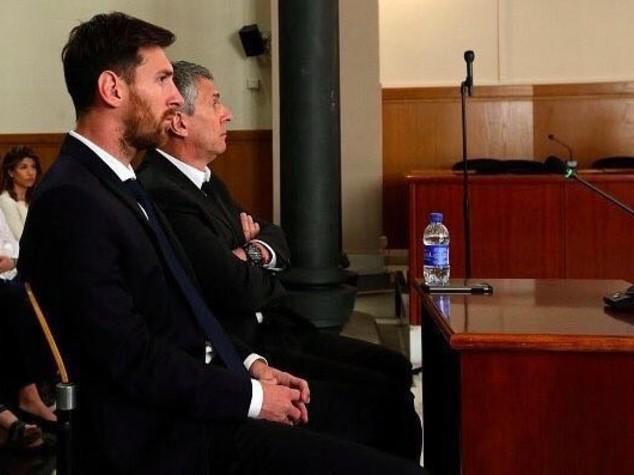 Messi e padre condannati a 21 mesi per frode fiscale