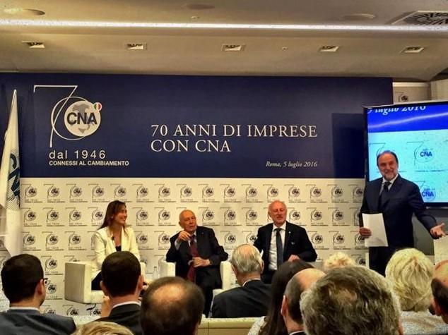 70 anni di Cna con Napolitano e Boschi