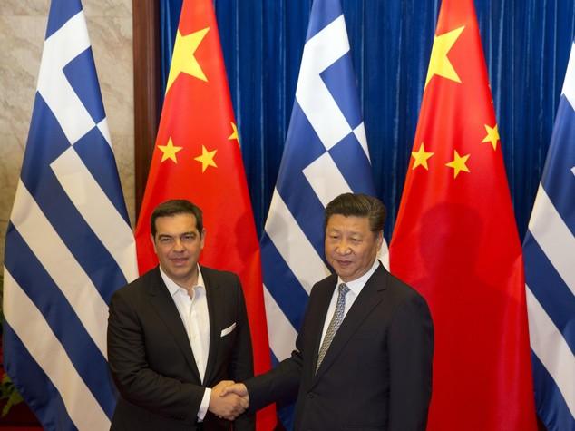Cina: Xi a Tsipras, fare del Pireo piu' grande porto Mediterraneo