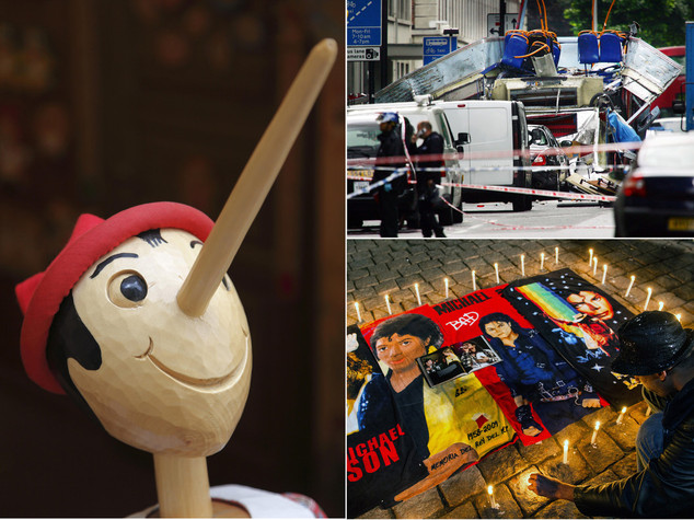 Dalla nascita di Pinocchio agli attacchi di Londra, i fatti del 7 luglio