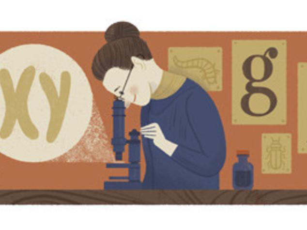 Doodle 'genetista' per Nettie Stevens e il cromosoma Y