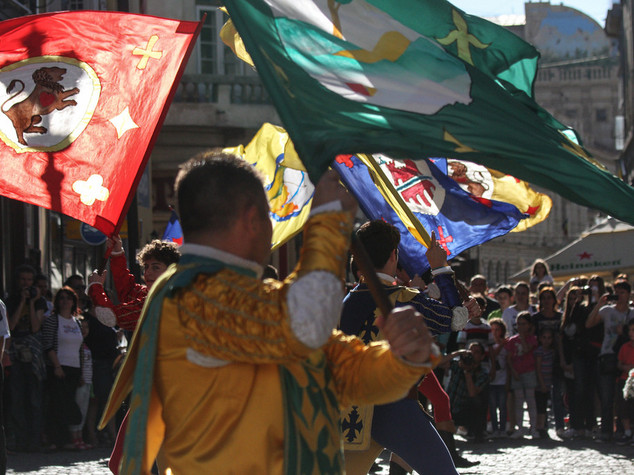 Italian flag throwers take part in Astana Day celebrations