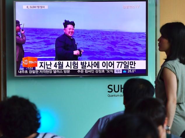 Nordcorea: test di Pyongyang su missile sottomarino
