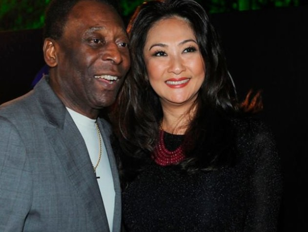 Terze nozze per Pelé: ha sposato Marcia Aoki