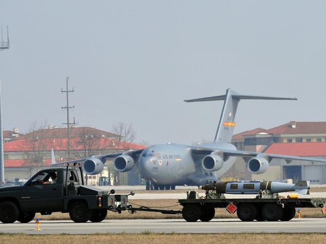 Ansia per un aviere Usa scomparso ad Aviano