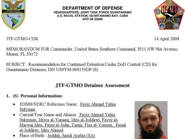 Da al Qaeda all'Italia, jihadista trasferito da Guantanamo