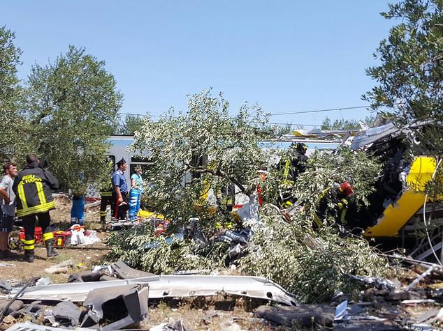 Scontro treni: presidente provincia, 20 vittime