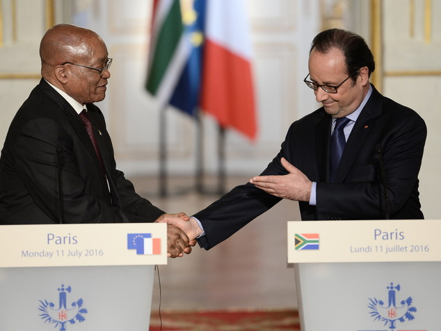 South Africa: agreements with France in agriculture and arts