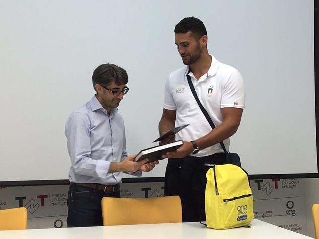 Campione supermassimi Vianello ricevuto all'Ang
