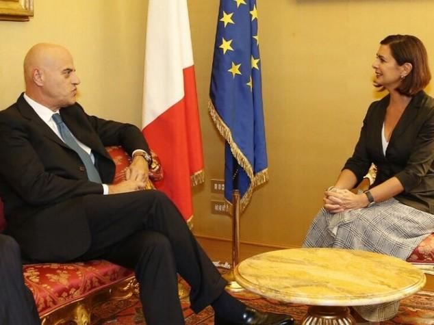 Eni: Descalzi incontra Boldrini, abbiamo parlato di Africa